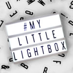 Mini Cinema Lightbox available exclusively at Design Essentials, Saffron Walden