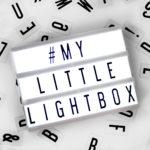 Mini Cinema Lightbox available exclusively at Design Essentials, Saffron Walden