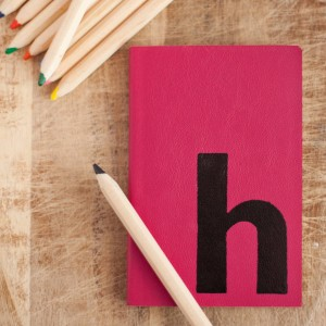 Single initial notebook - stand out, for all the right reasons.
