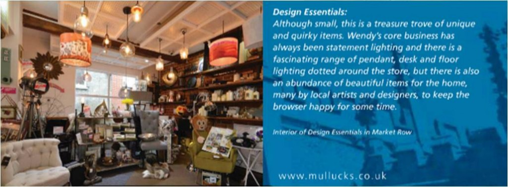 Design Essentials featured in Mullucks Wells Property Magazine