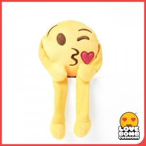 Blowing kiss emoji shelf buddy from Design Essentials