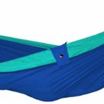 Design Essentials double hammock in blue and turquoise