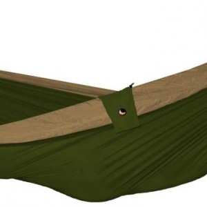 Design Essentials double hammock in khaki and bronze