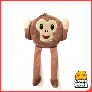 Monkey emoji shelf buddy