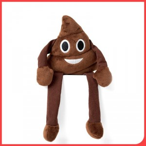 Poo emoji shelf buddy from Design Essentials