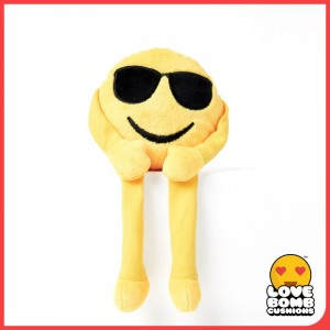 'Stay cool' shades emoji shelf buddy from Design Essentials