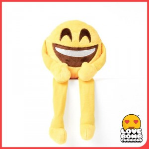 Smiley emoji shelf buddy from Design Essentials