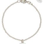 Personalised Silver Plated Heart Bracelet, new in at Design Essentials
