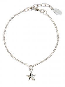 Personalised Silver Plated Star Bracelet, new in at Design Essentials