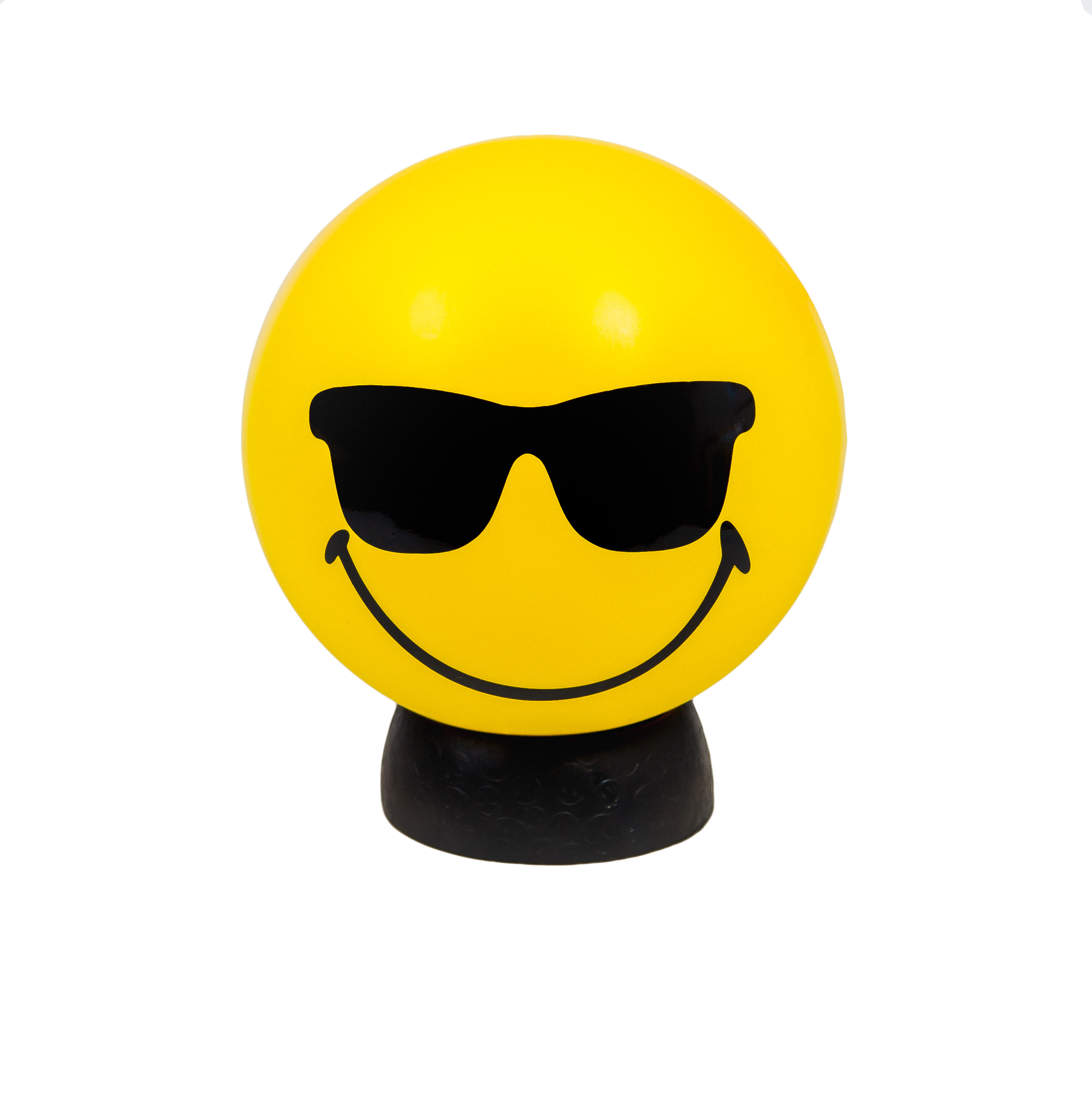 Cool Smiley Lamp | Sunglasses Emoji Lamp | Kids Lighting