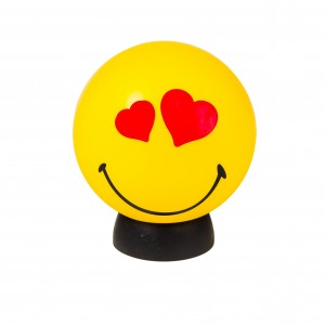 smile lamp heart eyes design essentials lighting playful