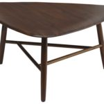 Design Essentials coffee table dark wood low-table homeware furniture