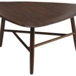 Design Essentials coffee table dark wood low-table homeware furniture