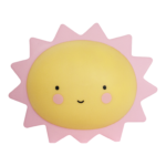 sun night light Kids Yellow and Pink Sun light