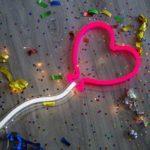 Design Essentials trendy heart balloon light bespoke neon lights with varying colours and design Saffron Walden, Essex-Lighting, Homeware, Gifts