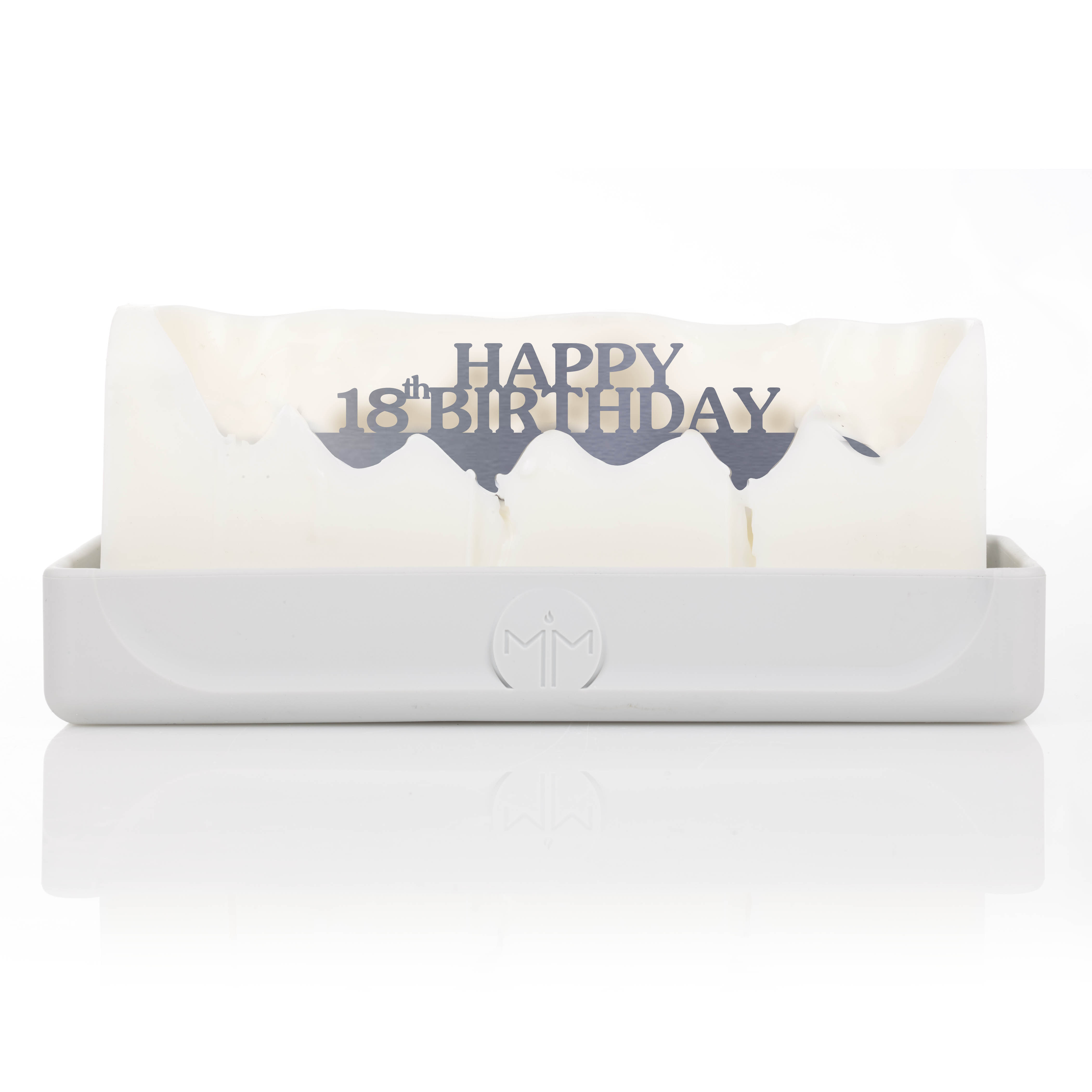 Happy 18th Birthday Melting Messages Candle From Design Essentials In Saffron Walden Great Gift Idea