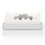 Happy 21st Birthday Melting Messages Candle from design essentials in saffron walden great gift idea