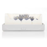Happy 50th Birthday Melting Messages Candle from design essentials in saffron walden great gift idea