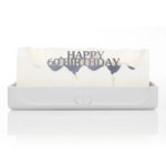 Happy 60th Birthday Melting Messages Candle from design essentials in saffron walden great gift idea