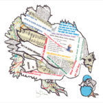design essentials prints local artist chickens easter cute artwork frames words news animals