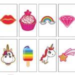 emoji packs for light boxes cinematic unicorns cute children lollipops starts girls
