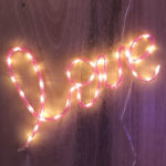 neon lighting trends love LED pink words cool