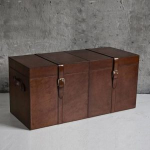 leather chest design essentials quality homeware box gifts h