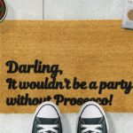 Design-Essentials-Prosecco-Party-Doormat-Saffron-Walden-Local-Business-Trends-Homeware-Interior-Garder