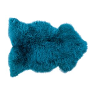 Design Essentials Sheepskin Rug Blue
