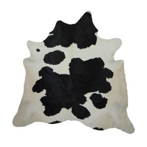 Design Essentials Cow Hide Black And White