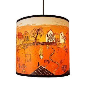orange back garden pendant design essentials lush designs saffron walden