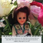 Gail Grisham feeling rough card