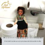 Gail Grisham toilet paper Valentines Card