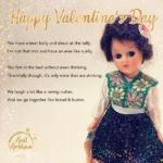 Gail Grisham Valentines Card