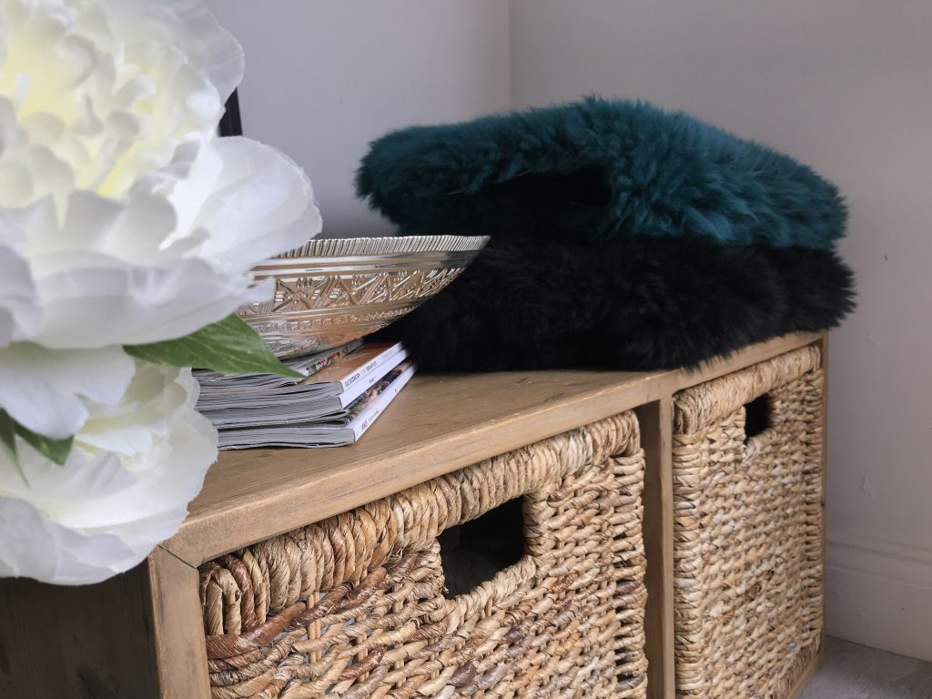 Sheepskin rugs, styling tips for the home, sheepskin rugs.