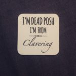 Design Essentials I'm Dead Posh Clavering Coaster Saffron Walden Accessory Local