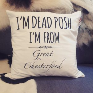 Design Essentials Dead Posh Great Chesterford Pillow Accessory Local