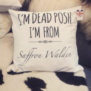 Design Essentials Shopping Canvas Bag Essex Saffron Walden Accessory Local Great Chesterford Pillow