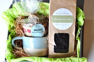 artisan lane gifts, Afternoon Tea gift box, gift for him, gift for her,