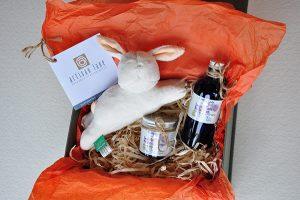 artisan lane gift box, Baby collection, new baby gift, christening gift, artisan gift, handmade gift, gift set