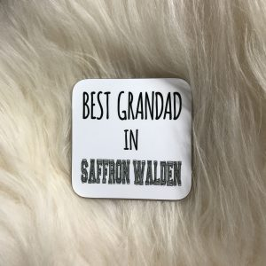 Design Essentials Best Grandad in Saffron Walden coaster