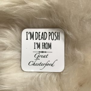 Design Essentials Coaster Dead Posh Homeware and accesorries Great Chesterford