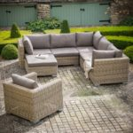 Design Essentials Marden Corner Sofa Set