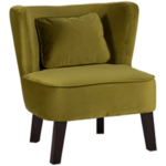 Design Essentials Green Marle Chair