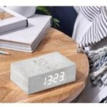 click clock flip white birch design essentials gingko