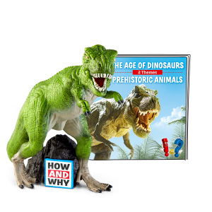 How and Why: The Age of Dinosaurs/Prehistoric Animals Design Essentials Tonies