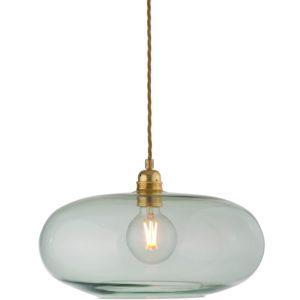 36cm horizon pendant lampshade forest green ebb and flow design essentials