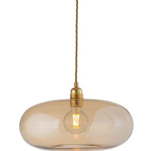 36cm horizon pendant lampshade golden smoke ebb and flow design essentials
