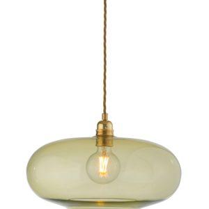 36cm horizon pendant lampshade olive ebb & flow design essentials