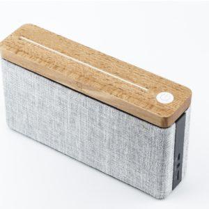 hifi square speaker maple